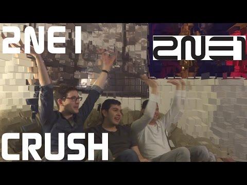 2ne1 - Crush Live Reaction, Non-kpop Fan Reaction [hd] video