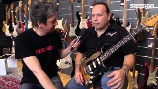 Interview with Fender Custom Masterbuilder John Cruz at session Frankfurt