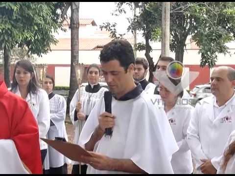 Procissão e bênção de Ramos marcam início da semana da Páscoa