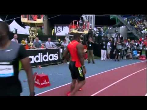 100M Men Yohan blake 9.90 New York Diamond League 2012