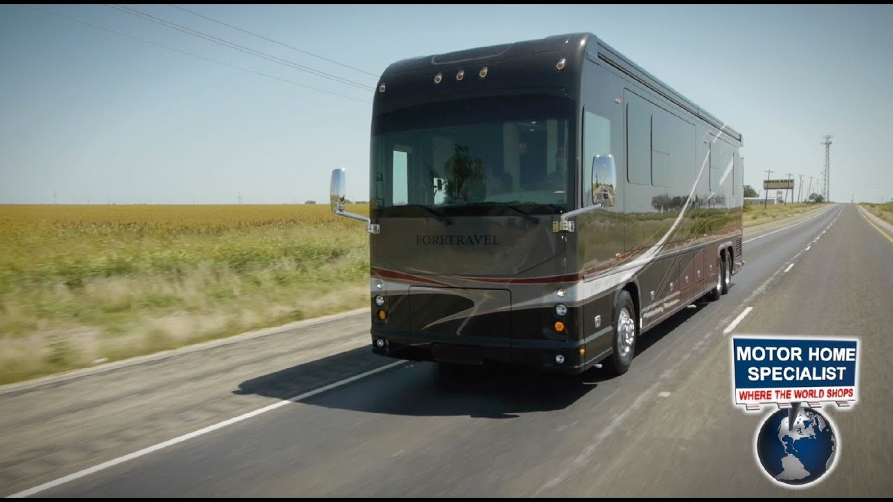 1 2m Foretravel Luxury Motor Coach On Sale At 2013 Ih45 Youtube