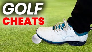 GOLF CHEATS ON VIDEO CAUGHT