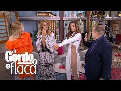 Clarissa Molina y el sensual traje que usó en Premios Juventud