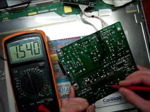 ремонт монитора Samsung 940N