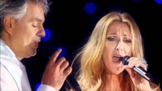 Клип Andrea Bocelli - The Prayer (live)