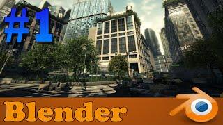 Blender 3D Como criar um jogo de Mundo Aberto Realista: Introdução #1