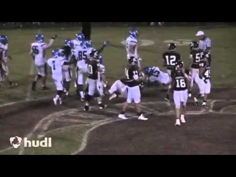 Alex White Maiden High School Football 2013 Highlights