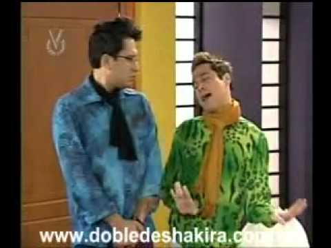 Los Fabu bailando con LA DOBLE DE SHAKIRA - WWW.CHATVENEZUELA.COM.VE