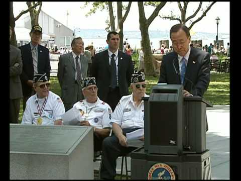 MaximsNewsNetwork: KOREAN WAR 60th MEMORIAL: UN's BAN KI-MOON (UNTV)