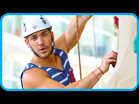 YoMuscleBoii Rock Climbing and FlowRider - Royal Caribbean Adventure