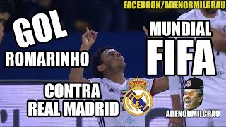 GOL ROMARINHO AL JAZIRA X REAL MADRID - MUNDIAL CLUBES FIFA