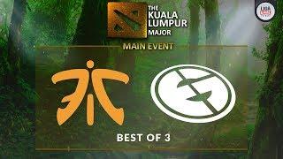 [DOTA 2] Fnatic VS Evil Geniuses (BO3) - The KL Major Playoffs Day 4