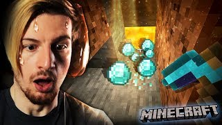 GUYS.. WE FINALLY FOUND DIAMOND. || Minecraft (Part 3)
