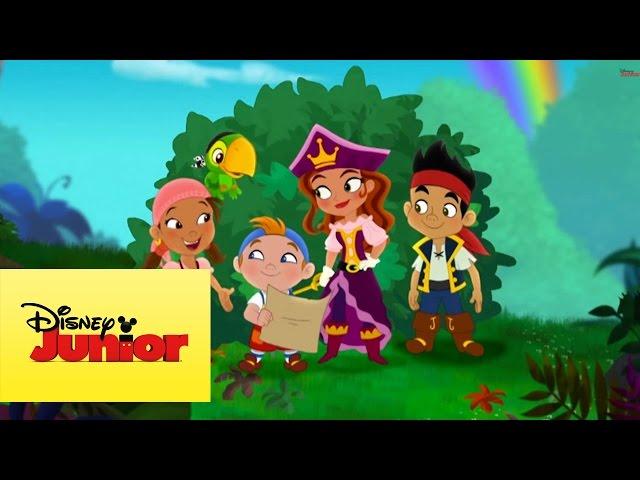 Jake y los piratas del país de Nunca Jamás: Los mapas de Cubby