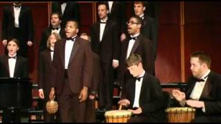 "GSU Men's Choir sings ""Bonse Aba"" - Traditional Zambian Song arr. Andrew Fisher"