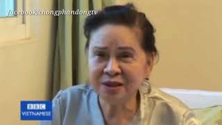 Bà Bẩy Vân phu nhân cố Tổng Bí Thư Lê Duẩn trả lời  BBC.