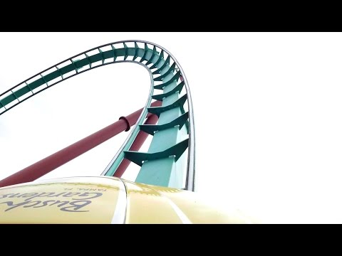 Kumba Front Seat POV 2015 FULL HD Busch Gardens Tampa
