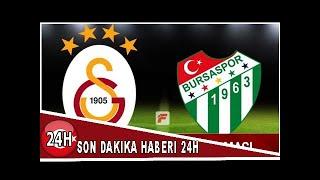 Galatasaray Bursaspor ma Periscope canl izle BeIN