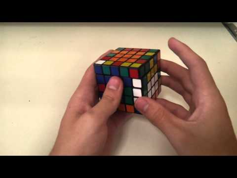 5x5 example solves (By the world record holder)
