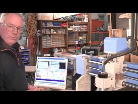 134  6090 CNC router Machining aluminium plate