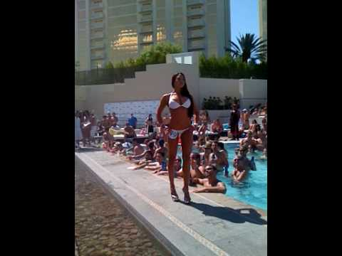 Wet Republic Girls Bikini Contest - Las Vegas June 26th 2009