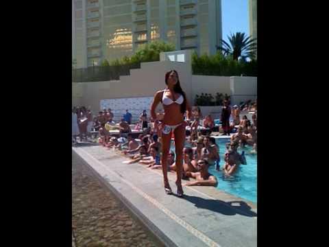 Wet Republic Girls Bikini Contest - Las Vegas June 26th 2009