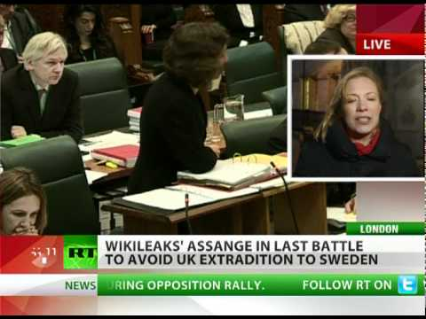 Justice for Assange: Extradition appeal kicks off in UK top court