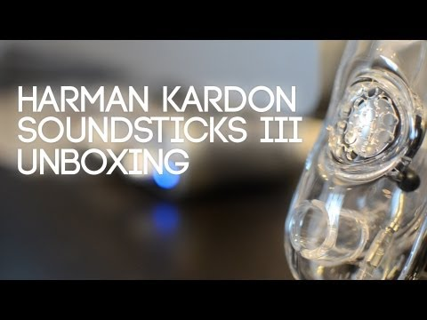 Harman Kardon SoundSticks III Unboxing