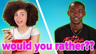 Teens Play Would You Rather: Social Media