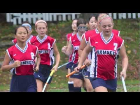 Rumsey Hall School Fall Athletics Season, 2012