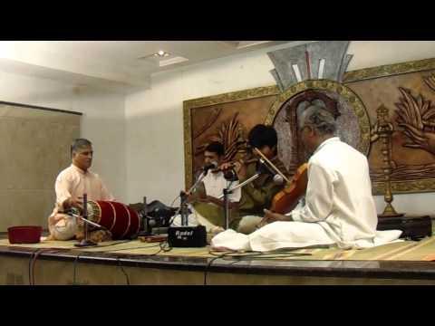 J A Jayanth Flute Evari Bodhana VARNAM Abhogi