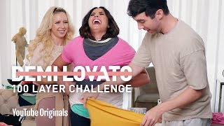 Download Lagu Demi Lovato's 100 Layer Challenge Gratis STAFABAND