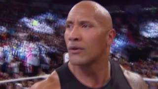 Brock Lesnar interrupts The Rock : Raw, May 16, 2016