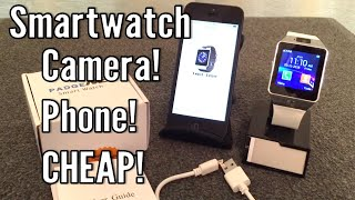 Review: DZ09 Bluetooth SmartWatch with Camera