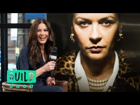 "Catherine Zeta-Jones Stops By To Talk About ""Cocaine Godmother"""