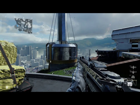 60 FPS Advanced Warfare MP Map Reveal -  Recovery