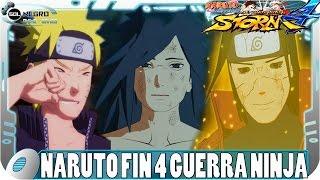 Naruto el Final de la 4ª Guerra Mundial Ninja (Español Latino) | Naruto Ultimate Ninja Storm 4