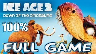Ice Age 3: Dawn of the Dinosaurs FULL GAME 100% Longplay (PS3, X360, Wii, PS2, PC)