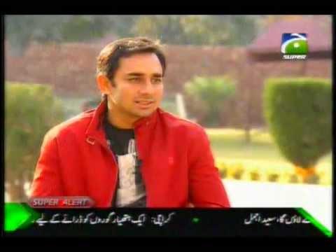 Saeed Ajmal Crying