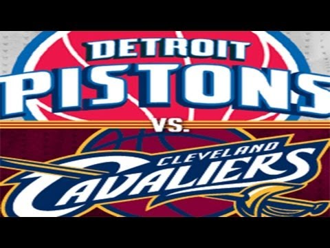 NBA 2K13 - Detroit Pistons vs Cleveland Cavaliers - Josh Smith Pistons Debut