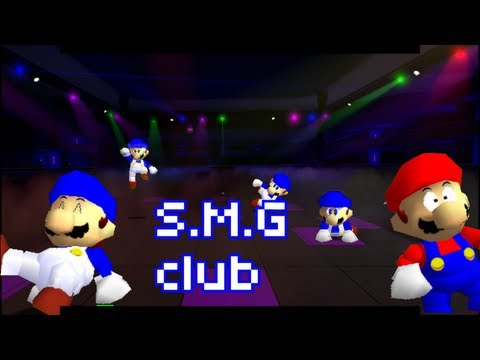 super mario 64 bloopers: S.M.G club
