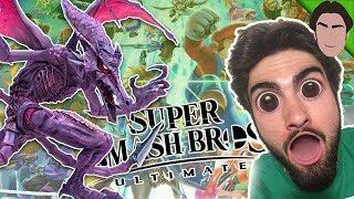 RIDLEY IN SMASH! Smash Bros Ultimate REACTION! E3 2018