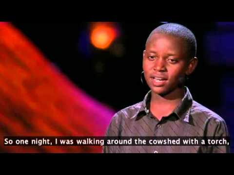 Richard Turere - 13 Year Old Kenyan Boy - Ted Talks 2013 video