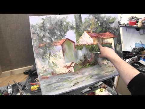 техника живописи старых мастеров: