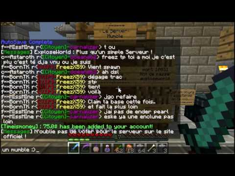 Serveur minecraft pvp faction 1.5.2 version crack accepté