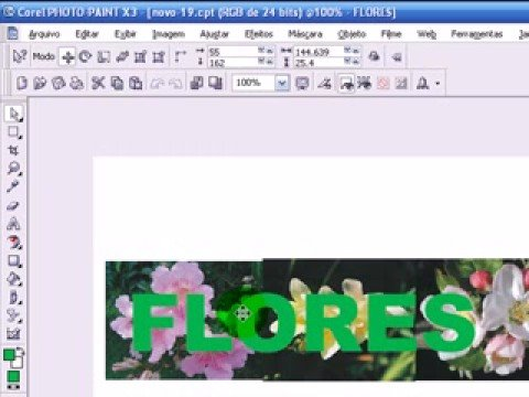 Video-aulas Suite Corel (Draw x Photopaint) - Aula 69
