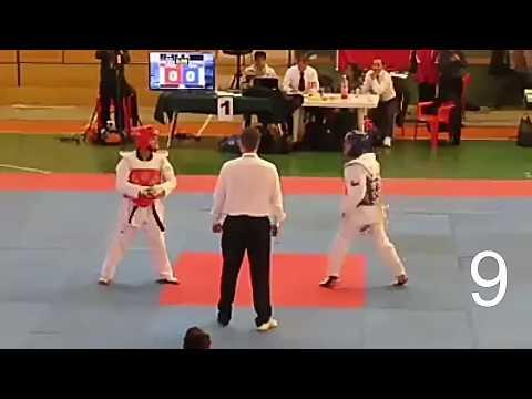 Top 15 K.O. más sorprendentes del taekwondo