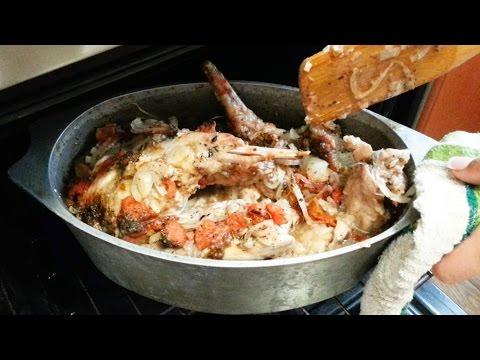 Кролик в вине Как приготовить кролика в духовке Кролик тушеный в вине Блюда из кролика рецепты приго