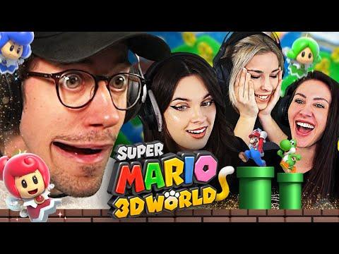 3 Girls & Hänno spielen Super Mario 3D World