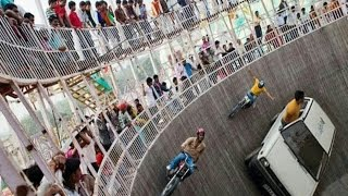 Maut ka kuwa Mot ka kuwa car and bike stunt india